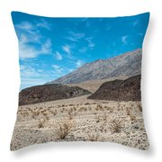 Rock Piles Throw Pillow
