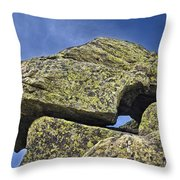 Rock Puzzle Throw Pillow