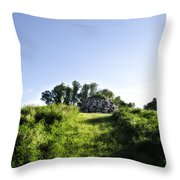Rock Pyramid Throw Pillow