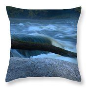 Rock Rapids Two Throw Pillow