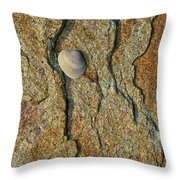 Rock Shadows Throw Pillow