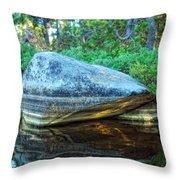 Rock Stripes Throw Pillow