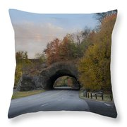 Rock Tunnel - Kelly Dive Throw Pillow