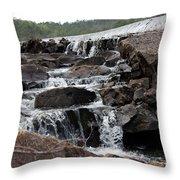 Rock Water Throw Pillow