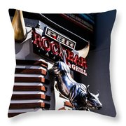 Rockbar Throw Pillow