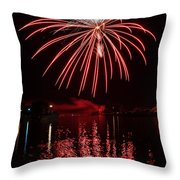Rocket's Red Glare Throw Pillow