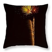 Rockets Skyward  Throw Pillow by Saija  Lehtonen