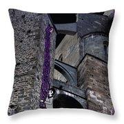 Rockin' Raven Celtic Rapunzel Throw Pillow