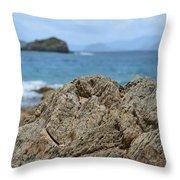 Rockin' The Caribbean Throw Pillow