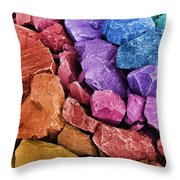 Rocking Abstract Throw Pillow