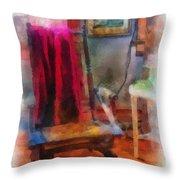 Rocking Chair Photo Art Throw Pillow