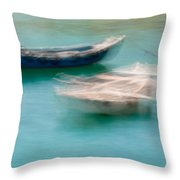 Rocking In The Breeze Throw Pillow