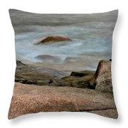 Rockport Beach Throw Pillow