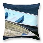 Rockport Blues Throw Pillow