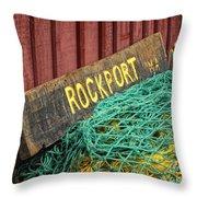 Rockport Throw Pillow