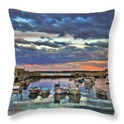 Rockport Dusk Throw Pillow