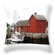 Rockport - Motif Number 1 Throw Pillow