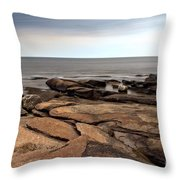 Rockport Rocks Throw Pillow