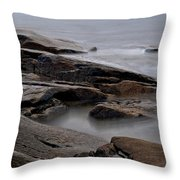 Rockport Seagull Throw Pillow