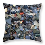 Rocks And Stones Throw Pillow