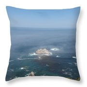 Rocks In The Water Throw Pillow