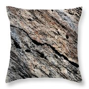 Rocks Texture Throw Pillow