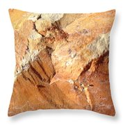 Rockscape 8 Throw Pillow