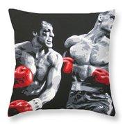 Rocky 4 Throw Pillow
