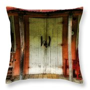 Rocky Bottom Throw Pillow