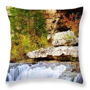 Rocky Fall Throw Pillow