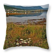 Rocky Harbour-nl Throw Pillow
