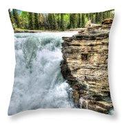 Rocky Mountain Dreams Throw Pillow