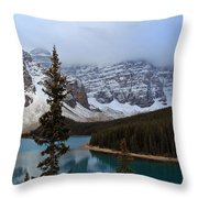Rocky Mountain Escape Throw Pillow
