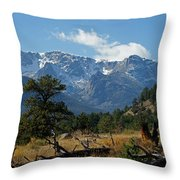 Rocky Mountain High Throw Pillow