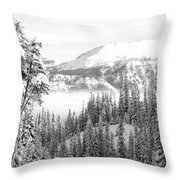Rocky Mountain Vista Throw Pillow