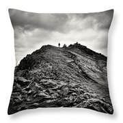 Rocky Pathway 2 Throw Pillow