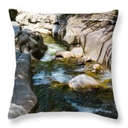 Rocky River Throw Pillow