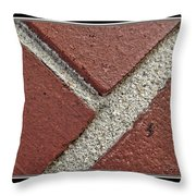 Rocky Road Throw Pillow
