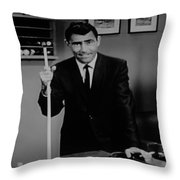 Rod Serling Throw Pillow