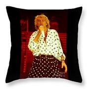 Rod Stewart E16 - 1991 Throw Pillow