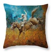 Rodeo 001 Throw Pillow