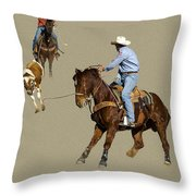 Rodeo 37 Throw Pillow