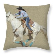 Rodeo 44 Throw Pillow