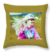 Rodeo Beauty Two Throw Pillow