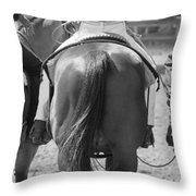 Rodeo Bums Throw Pillow