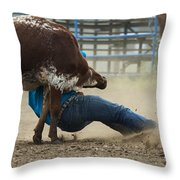 Rodeo Getting Down Throw Pillow