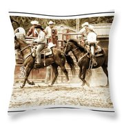Rodeo Grandentry Throw Pillow