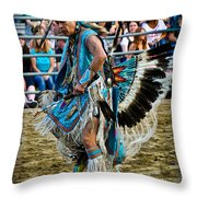 Rodeo Indian Dance Throw Pillow