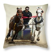 Rodeo Leader Of The Pack Throw Pillow