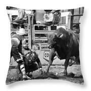Rodeo Mexican Standoff Throw Pillow